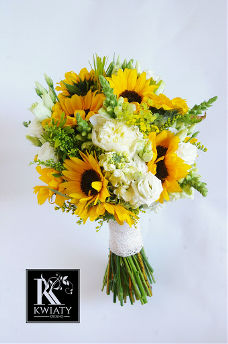 Wedding Bouquets Yellow