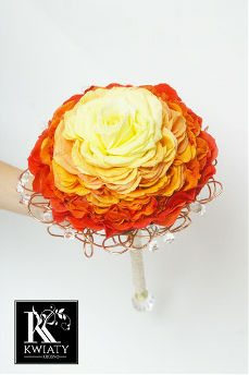 Wedding Bouquets Orange